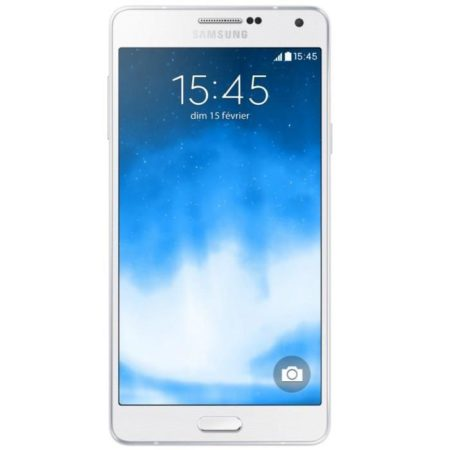 Samsung A7 BLANC QUICK VIEW HOUSSE