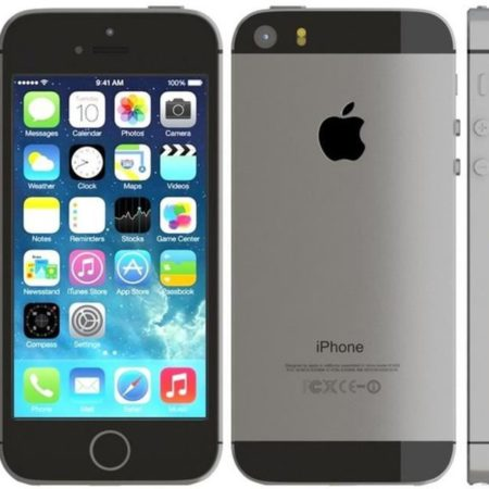 Apple iPhone 5S 16Go space grey (gris)